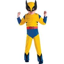 Disfraz De Wolverine Para Niños Y Bebes, Envio Gratis