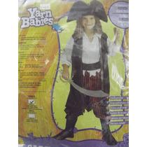Dr.veneno Disfraz Caribean Pirate 2-4 Años