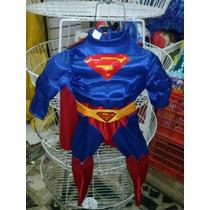 Super Man Disfraz Niño Regalo Superman Juguete Infantil