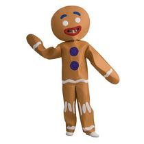 Shrek Gingerbread Man Halloween Costume - Niño