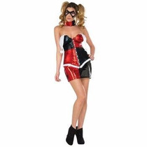 Disfraz De Lujo De Harley Quinn Para Damas Envio Gratis