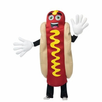 Botarga Disfraz De Hot Dog Para Adultos Envio Gratis