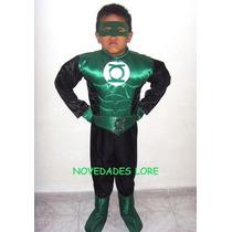Disfraz Linterna Verde Transformers Flash Iron Man Buzz Hulk