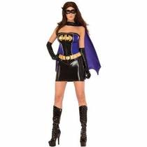 Disfraz De Lujo De Batman Batichica Para Damas Envio Gratis