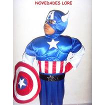 Disfraz Capitan America Supeman Spiderman Wolverine Batman