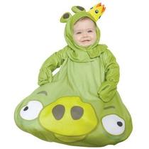 Disfraz De Angry Birds Para Bebes, Envio Gratis