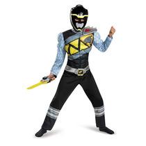 Disfraz Power Ranger Dino Charge Musculos Negro Ninos Import