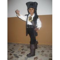 Bonito Disfraz Pirata Sparrow - Crz
