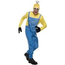 Minion Kevin Vestuario Costume Co Hombres De Rubie