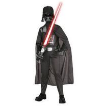 Darth Vader Vestuario De Star Wars Niño
