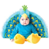 Precioso Traje De Pavo Real Disfraces Incharacter Del Bebé