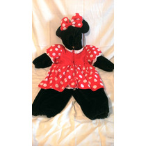 Hermoso Disfraz De Mini Mouse Original De Disneylandia T/4