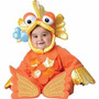 Disfraz De Pescado Pez Goldfish Para Bebes, Envio Gratis