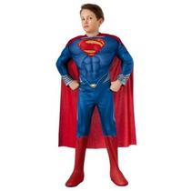 Disfraz De Superman Con Luz Para Niños, Envio Gratis