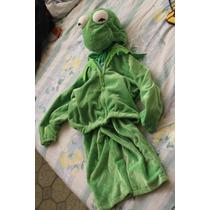 Disfraz Muppet Kermit Rana Rene Niño Bebe 24 Meses Unisex
