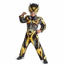 Disfraz Transformers Bumblebee Entrega Inmediata 2 Años
