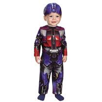 Nuevo 12 A 18 Meses Disfraz Transformers Optimus Prime Niño