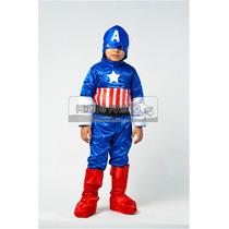 Disfraz Estilo Capitan America
