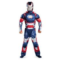 Disfraz Iron Man Patriot Talla 7/8 Años Original Entrega Inm