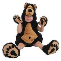 Oferta Unica! Disfraz De Oso Para Bebes 6-12 Meses