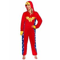 Pijama Mameluco De Mujer Maravilla Para Adultos Damas