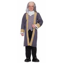 Ben Franklin De Disfraces De Halloween - Tamaño Infantil