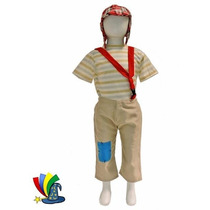 Disfraz Chavo Del 8 De Lujo Niño Talla 6