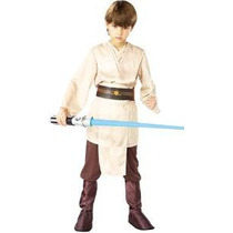 Deluxe Jedi Knight Vestuario De Star Wars Niño, Pequeño