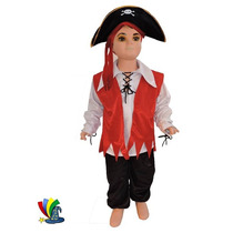 Disfraz Pirata Para Niño Halloween