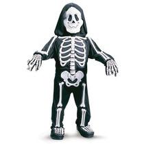 Disfraz De Muerte, Calavera Esqueleto Niños, Envio Gratis