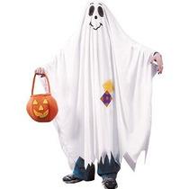 Niños Charlie Brown Fantasma De Halloween Costume Pequeño