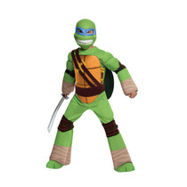 Disfraz Tortugas Ninja Leonardo 2/4 Años Entrega Inmediata