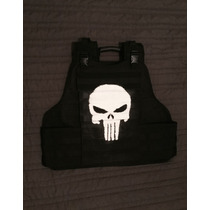 Punisher Chaleco Antibalas Gotcha Marvel Cosplay Deadpool