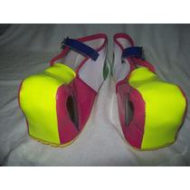 Gcg Zapatos De Payasa Para Niña Amarillo Numero 21 Css