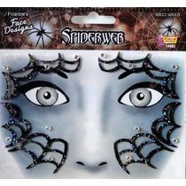 Disfraz Mujer Araña Tatuajes Temporales Tattoos Halloween