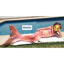 Cola De Sirena Nueva Temporada Kit: Cola, Monoaleta Y Bikini