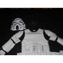 Disfraz De Stormtrooper Niño 5-6 Star Wars Disney Avv
