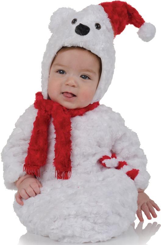 Disfraz De Oso Polar Para Bebes, Envio Gratis - $ 1,400.00 en ...