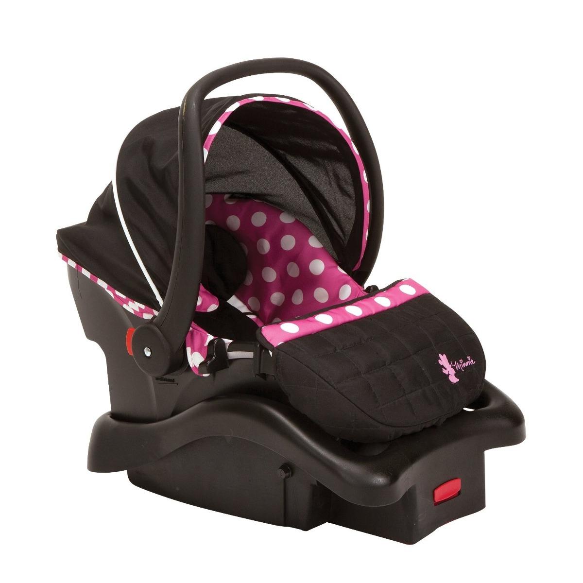 Disney minnie porta beb y asiento para auto viaje beb for Asiento de bebe para auto