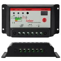 Controlador/regulador De Voltaje 12v/24v, 20 Amperes, Solar