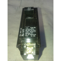 Interruptor Breaker Termomagnetico Siemens De 1 Polo 50 Amp