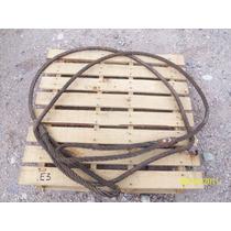 Estrobo De Cable De Acero 6.4 Metros De 1 Pulgada