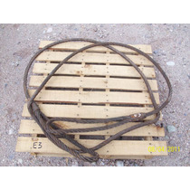 Eslinga O Estrobo De Cable De Acero 6.4 Metros De 1 Pulgada