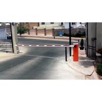 Barrera Acceso Vehicular Pluma Faac 615 Brazo 4m 110v