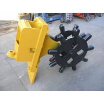 Rueda Compactadora De 12 Retroexcavadora Case Caterpillar