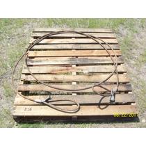 Estrobo De Cable De Acero 6.3 Metros De 1/2 Pulgada