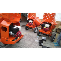 Revolvedora De Concreto Cap.1 1/2 Con Motor Honda 13hp
