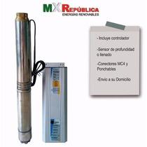 Bomba Sumergible Solar/eolica Mxrep4psp2-17 Incluye Envio