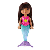 Nueva!!! Dora Y Sus Amigos Sirena Realmente Nada Con Luces