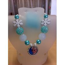 Collares Para Niña Importados Frozen Sofia Dora Peppa Ariel